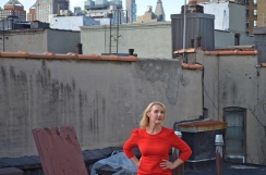 Photo by Neal Medlyn, St. Marks roof, 2015